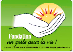 Logo Fondation Un geste pour la vie